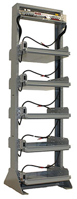 Pre-Wired Relay Battery Rack
