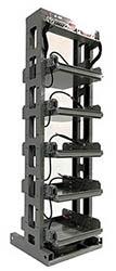 Pre-Wired Titan Seismic Battery Rack