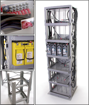 Batteries, Racks, Cabinets, Telecom Products and Custom Solutions